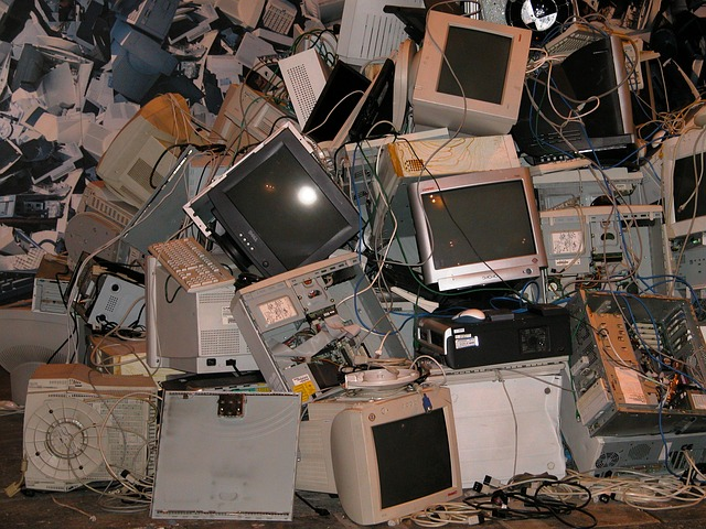 Make sure used electronic equipment is disposed of properly