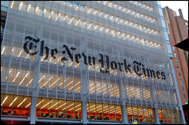 New York Times moves to online subscription service