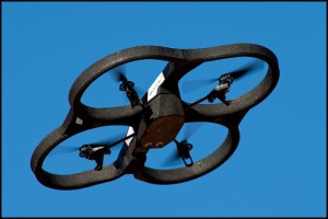 The Parrot AR Drone among the new technology from the 2010 CES